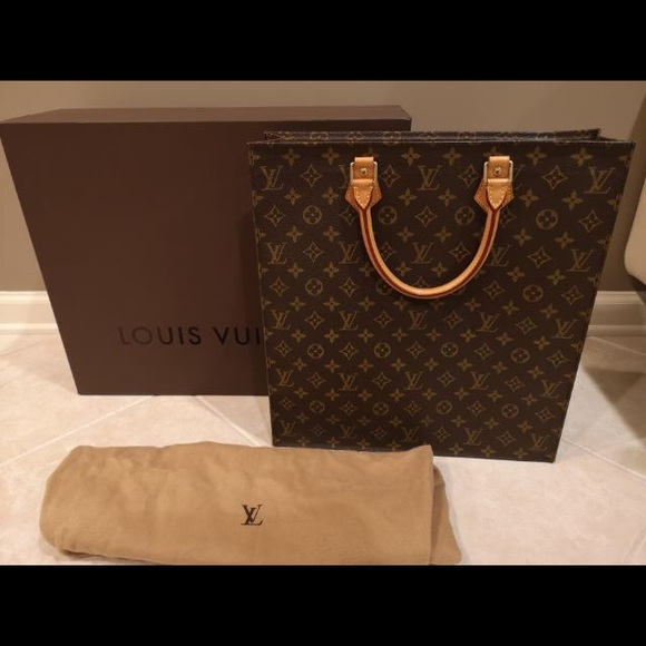 36625a7af7a5 Louis Vuitton Handbags - Vintage Louis Vuitton Sac Plat Tote
